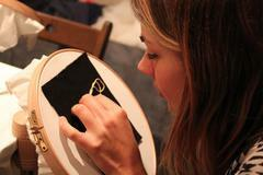 Our First Goldwork Beginners Class! London Embroidery School