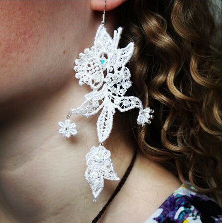 DIY Make your own Gifts - Lace Jewellery Class