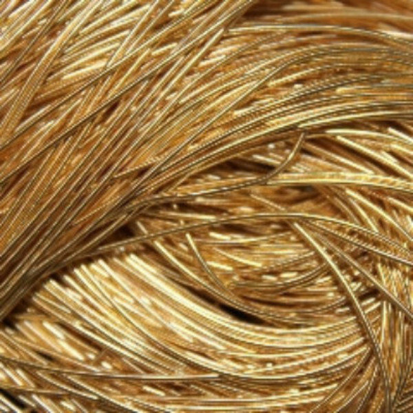 Gold Smooth Purl (10g)
