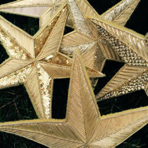 Goldwork Christmas Star Workshop