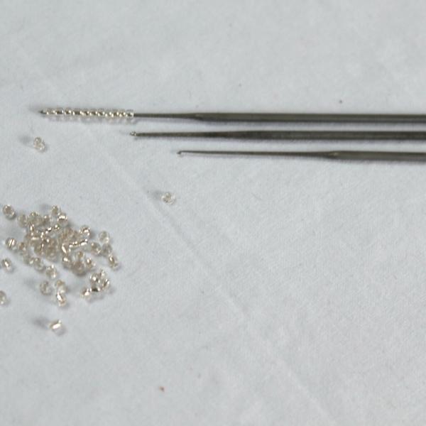 Indian Ari hook with metal handle (3pcs)