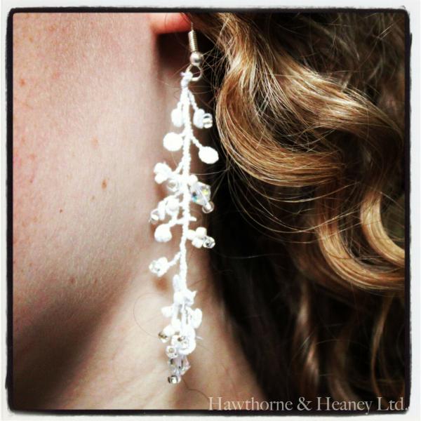 Vine Lace Earrings and Bracelet Kit (A)