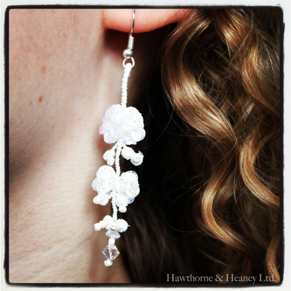 Vine Lace Earrings and Bracelet Kit (B)