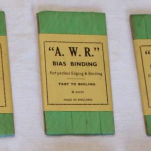 Vintage Green Binding