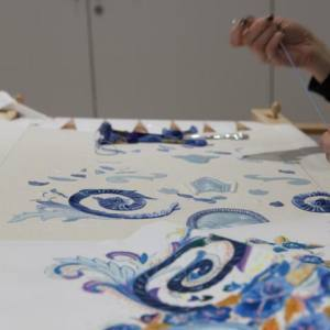 Beautiful Creations at Ecole Lesage Embroidery School