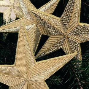 Get Festive with our Goldwork Star Christmas Workshop!