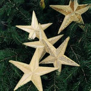 Get Festive with our Goldwork Star Christmas Workshop! London Embroidery School