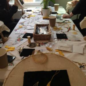 Goldwork Weekend Workshop London Embroidery School