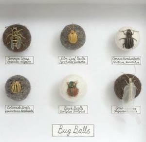 Lady Bird Bug Ball Workshop with Claire Moynihan London Embroidery School