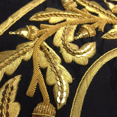 Extra Classes added for Intermediate Goldwork 5 Day Course and Tambour Weekend Workshop
