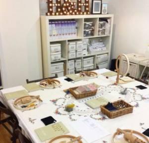 London Craft Week Monogramming Classes London Embroidery School