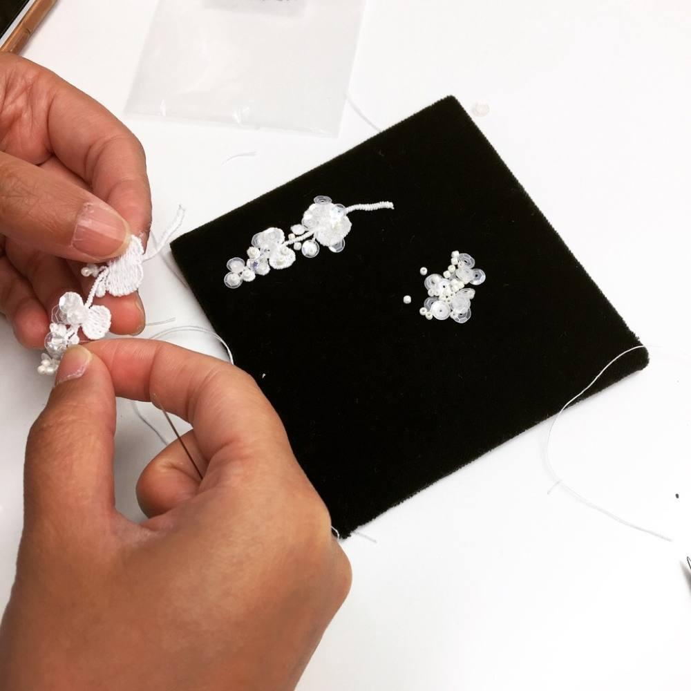 Lace Jewellery Class