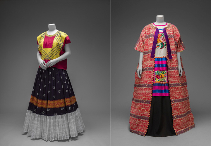 Frida Kahlo: Making Herself Up - Exhibition Visit London Embroidery School