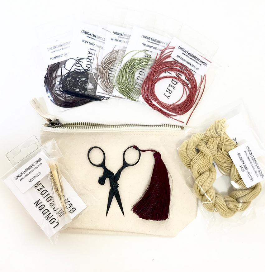 scissors, vintage scissors, snips, tassel, equipment, tools, pouch
