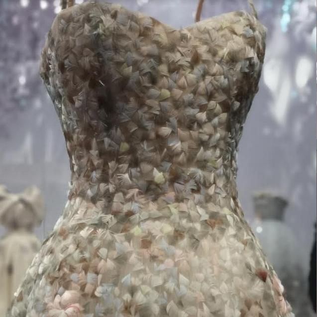dior, exhibition, fashion, dress, V&A,