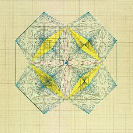 drawing, exhibition, visit, Emma kunz, geometric