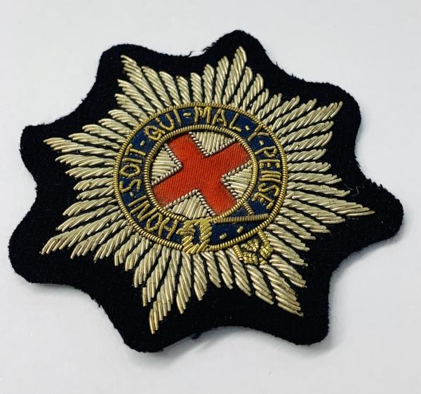 Coldstream Guards Blazer Badge, Gold Badge, Cap Badge,Blazer, badge, Cap, Cap Badge, Blazer Badge, Vintage badge, military, military badge, military button