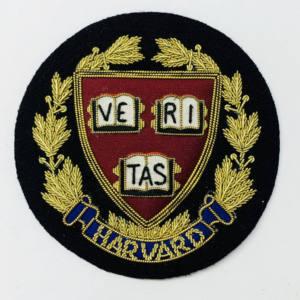 Harvard University Blazer Badge, Gold Badge, Cap Badge,Blazer, badge, Cap, Cap Badge, Blazer Badge, Vintage badge, military, military badge, military button