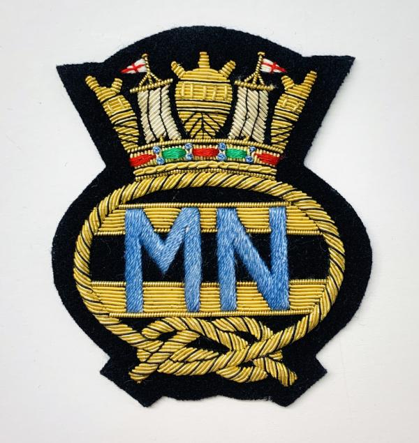Merchant Navy Blazer Badge, Gold Badge, Cap Badge,Blazer, badge, Cap, Cap Badge, Blazer Badge, Vintage badge, military, military badge, military button