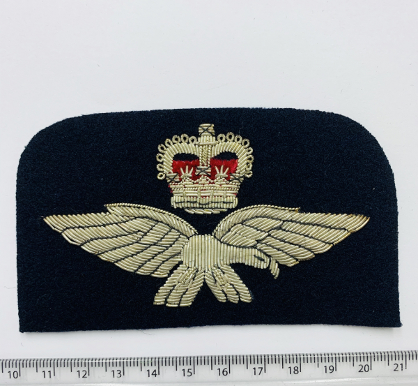 RAF-Representative Blazer Badge, Gold Badge, Cap Badge,Blazer, badge, Cap, Cap Badge, Blazer Badge, Vintage badge, military, military badge, military button