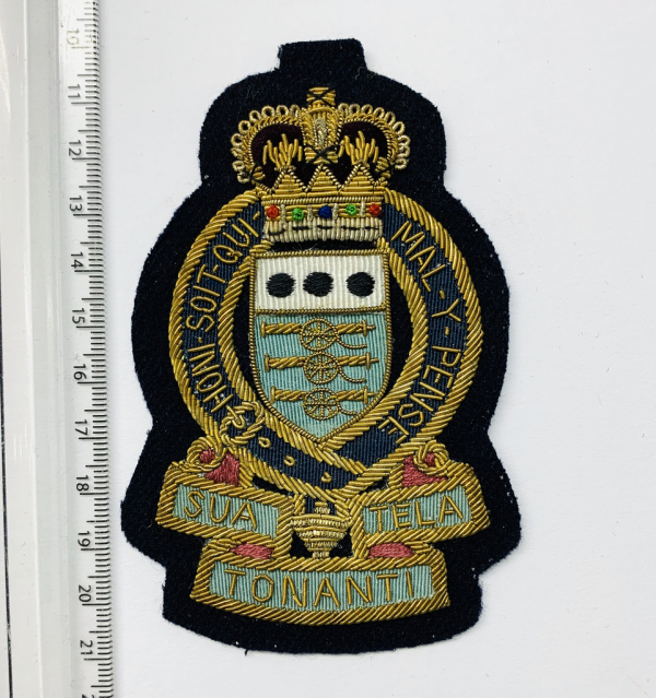 Royal Army Ordnance Corps Blazer Badge, Gold Badge, Cap Badge,Blazer, badge, Cap, Cap Badge, Blazer Badge, Vintage badge, military, military badge, military button