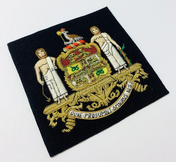 Royal College of Surgeons Blazer Badge, Gold Badge, Cap Badge,Blazer, badge, Cap, Cap Badge, Blazer Badge, Vintage badge, military, military badge, military button