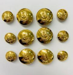 SAS Button, button, gold button, military button, military, gold, label, embellishment, accessory