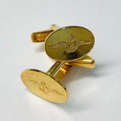 Fleet Air Arm Cufflinks, cufflinks, cufflinks, suit, gold cufflinks, Pin Badge, Button, Badge, Pin, Gold pin, Gold Button, Brooch, accessory