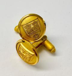 Oxford University Cufflinks, cufflinks, cufflinks, suit, gold cufflinks, Pin Badge, Button, Badge, Pin, Gold pin, Gold Button, Brooch, accessory