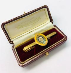 Order of the Garter Tie Bar, Tie Bar, Bar, Tie, Pin Badge, Button, Badge, Pin, Gold pin, Gold Button, Brooch, accessory