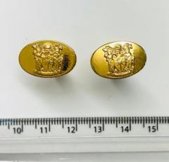 Royal College of Obstetricians and Gynaecologists cufflinks, cufflinks, suit, gold cufflinks, Pin Badge, Button, Badge, Pin, Gold pin, Gold Button, Brooch, accessory