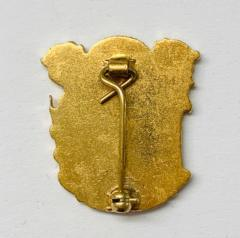 Royal College of Obstetricians and Gynaecologists Pin Badge, Pin Badge, Button, Badge, Pin, Gold pin, Gold Button, Brooch, accessory