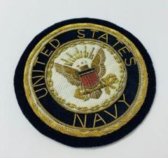 United States Navy Blazer Badge Blazer Badge, Gold Badge, Cap Badge,Blazer, badge, Cap, Cap Badge, Blazer Badge, Vintage badge, military, military badge, military button