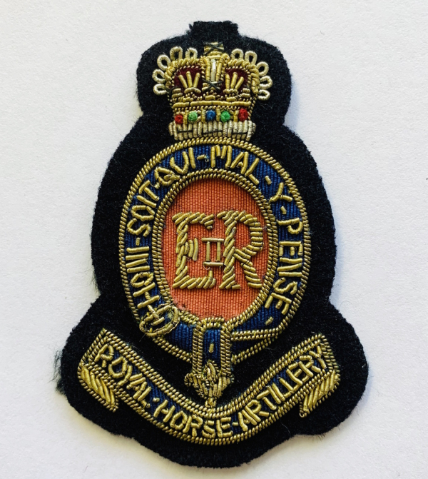 Royal Horse Artillery Cap Badge, Cap, Gold, Gold Badge, Cap Badge,Blazer, badge, Cap, Cap Badge, Blazer Badge, Vintage badge, military, military badge, military button