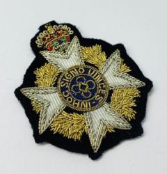 RAF Chaplain Cap Badge, Cap, Gold, Gold Badge, Cap Badge,Blazer, badge, Cap, Cap Badge, Blazer Badge, Vintage badge, military, military badge, military button