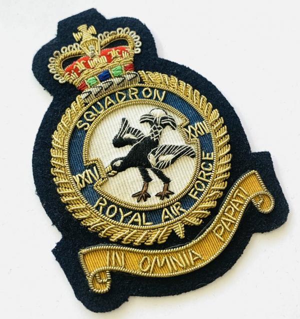 24th Squadron Blazer badge, badge, Cap, Cap Badge, Blazer Badge, Vintage badge, military, military badge, military button