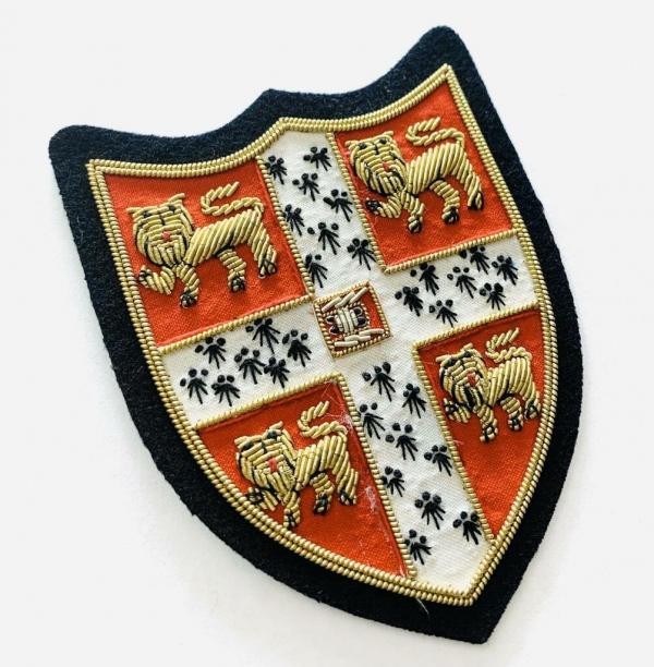 Cambridge University Blazer badge, badge, Cap, Cap Badge, Blazer Badge, Vintage badge, military, military badge, military button