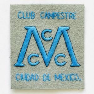 Club Campestre Blazer badge, badge, Cap, Cap Badge, Blazer Badge, Vintage badge, military, military badge, military button