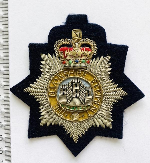 Devonshire Regiment Blazer Badge, blazer, badge, Cap, Cap Badge, Blazer Badge, Vintage badge, military, military badge, military button