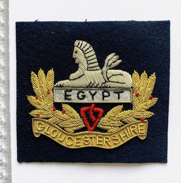 Gloucestershire Regiment Blazer Badge, Blazer, badge, Cap, Cap Badge, Blazer Badge, Vintage badge, military, military badge, military button