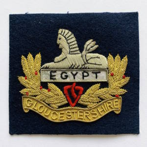 Gloucestershire Regiment Blazer Badge, Blazer, badge, Cap, Cap Badge, Blazer Badge, Vintage badge, military, military badge, military button