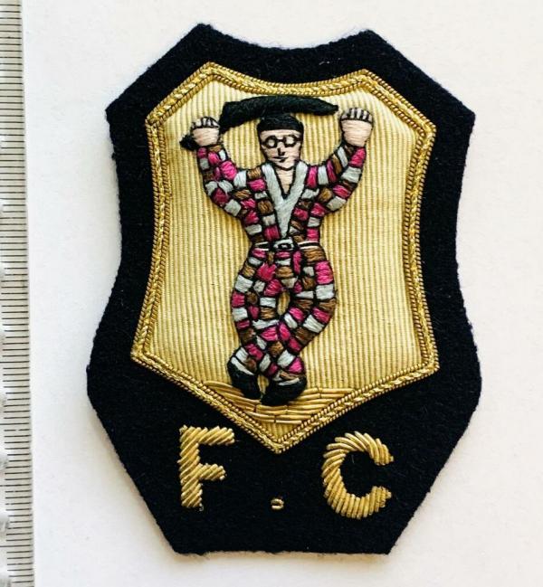 Harlequins RFC blazer badge, badge, Blazer Badge, Vintage badge, military, military badge, military button
