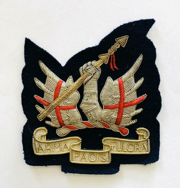 Honourable Blazer badge, badge, Cap, Cap Badge, Blazer Badge, Vintage badge, military, military badge, military button