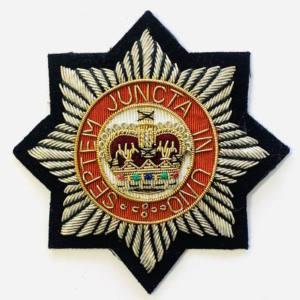 Household Division Blazer badge, badge, Cap, Cap Badge, Blazer Badge, Vintage badge, military, military badge, military button