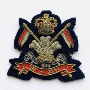 POW's Civil Service Rifles Blazer Badge, Blazer, badge, Cap, Cap Badge, Blazer Badge, Vintage badge, military, military badge, military button