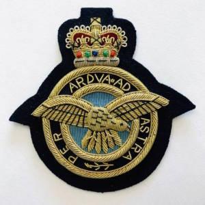 The Royal Artillery Blaze Badge, Gold Badge, Cap Badge,Blazer, badge, Cap, Cap Badge, Blazer Badge, Vintage badge, military, military badge, military button