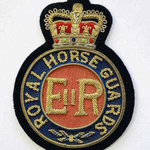 Royal Horseguard Blazer badge, badge, Cap, Cap Badge, Blazer Badge, Vintage badge, military, military badge, military button