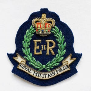 Royal Military Police Blazer badge, badge, Cap, Cap Badge, Blazer Badge, Vintage badge, military, military badge, military button