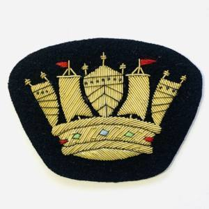Royal Naval Blazer badge, badge, Cap, Cap Badge, Blazer Badge, Vintage badge, military, military badge, military button