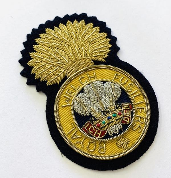 Royal Welch Fusillers Blazer Badge, Blazer, Blazer Badge, Cap Badge,Blazer, badge, Cap, Cap Badge, Blazer Badge, Vintage badge, military, military badge, military button